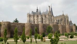 Viaje en moto por Astorga