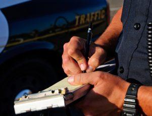 multas de tráfico
