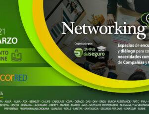 cartel de los networking days de newcorred