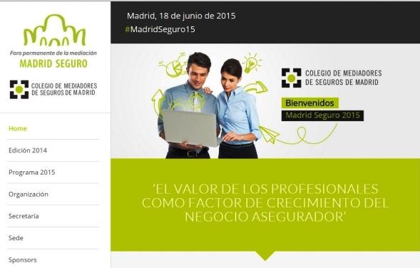 Portal en Internet del Foro permanente de la mediación Madrid Seguro.